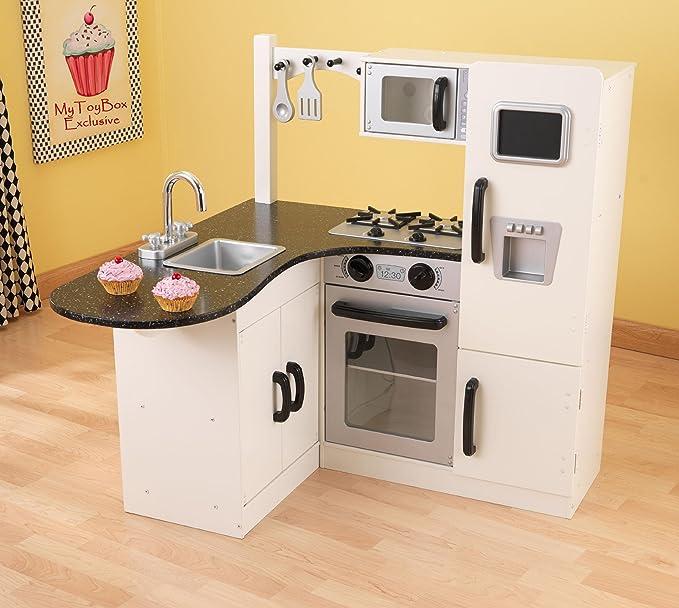 Amazon.com: Kidkraft 53278 - Juego de esquina para cocinero ...