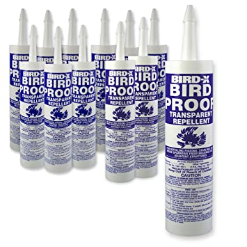 Bird-X Bird-Proof Gel Bird Repellent, Case of 12