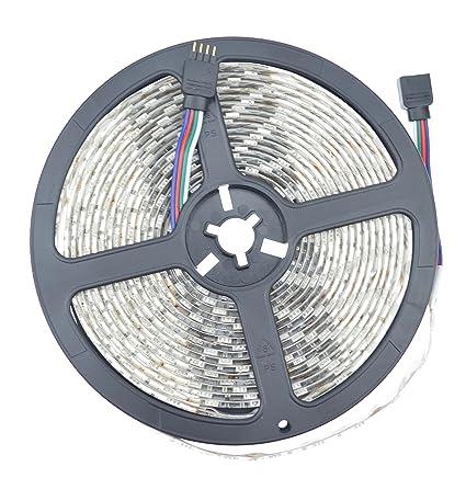 Amazon.com: ledlights 10 m 32.8 ft SMD5050 Impermeable IP67 ...