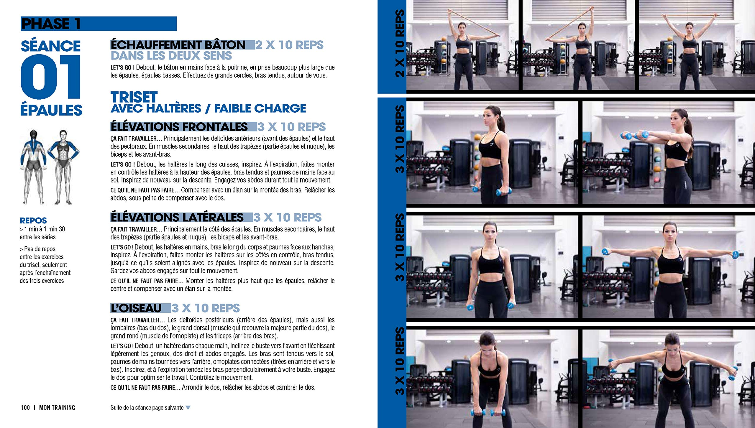 Guide Fitness Body Livres Sissy Strong TOXkZiPu