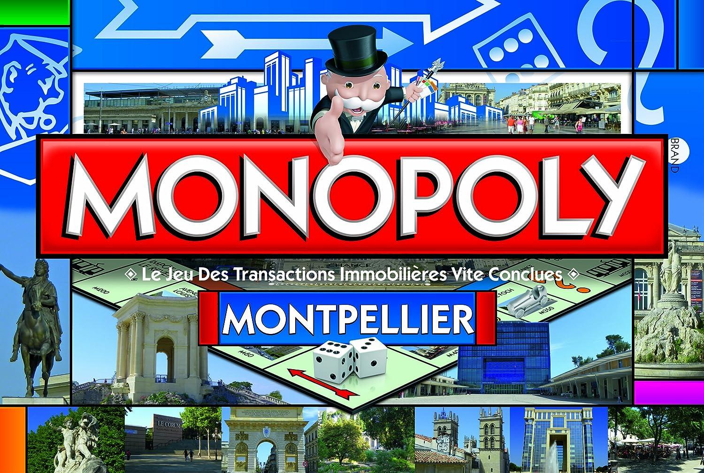 Winning Moves – 0010 – Brettspiel – Monopoly Montpellier