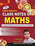 Class Notes of Maths: (Handwritten Notes)
