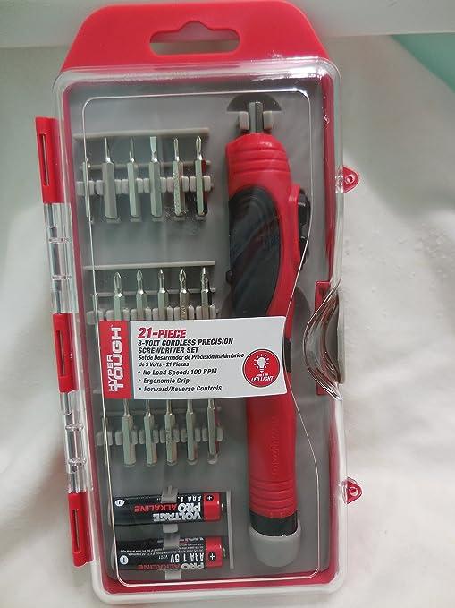 Amazon.com: Cordless precision screwdriver set 3-Volt: Home Improvement