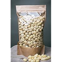Nueces de macadamia sin procesar, libres de transgénicos