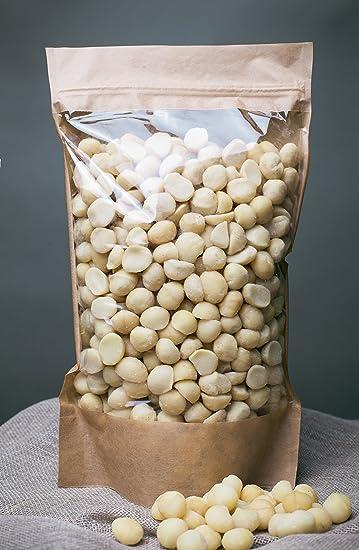 Nueces de macadamia sin procesar, libres de transgénicos, recolectadas del área orgánica (700gr