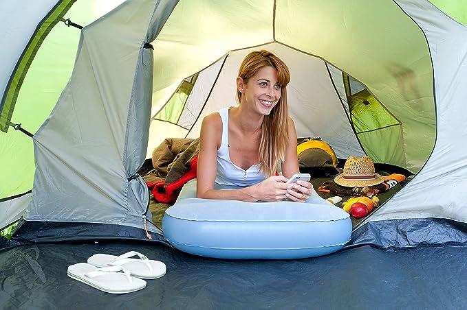 Campingaz Matratzen Luftmatratzen - Colchón de aire para acampada, color gris, 189 x 60 x 15 cm: Amazon.es: Deportes y aire libre