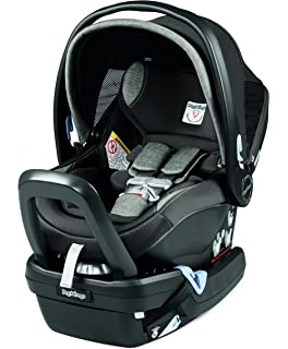Amazon.com : 4moms Self-Installing Infant Car Seat black : Baby