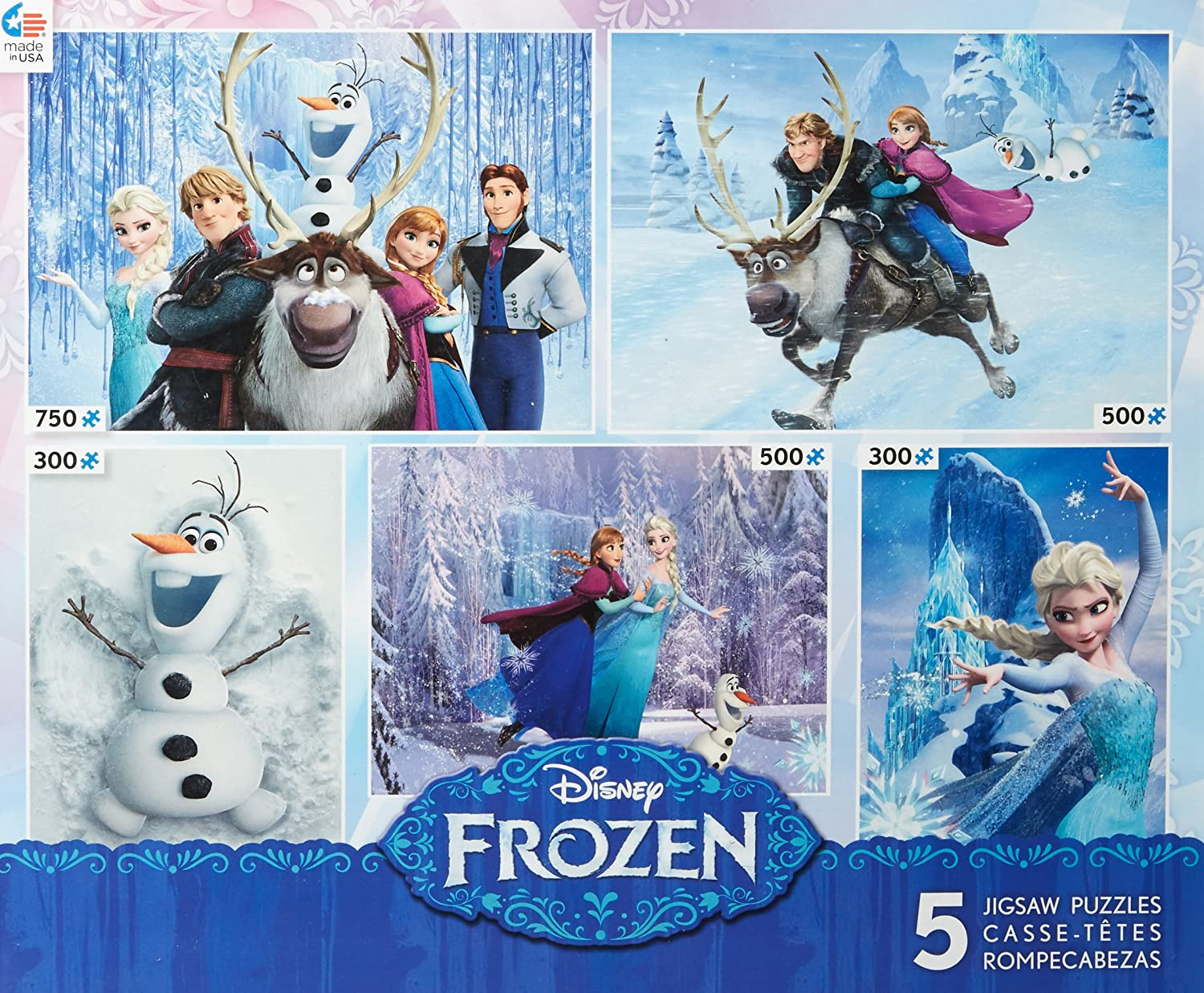 Ceaco Disney Pixar 5 in 1 Multipack