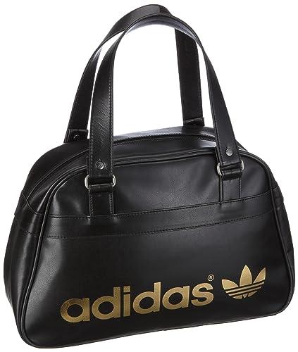 the latest fcb7d c8882 adidas Originals Ac Bowling Bag, Sac à main femme - Noir, Cuir