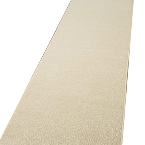 4f034acf967 Amazon.com  Runner Rug 2x5 Solid Ivory Kitchen Rugs and mats ...