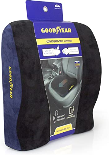 Goodyear 1009 - Extra Soft & Curved Seat Cushion