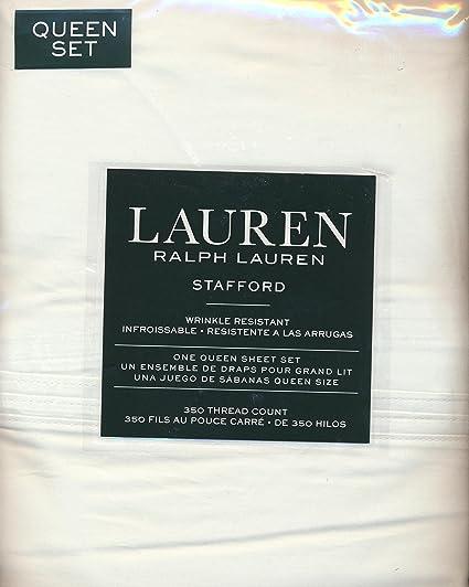Amazon Com Lauren Ralph Lauren Stafford 100 Cotton Sateen 4 Piece