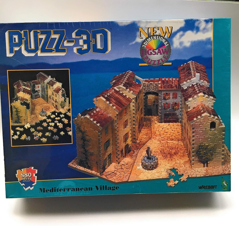 高価値セリー Puzz Puzz 3D Village B002823NES Mediterranean Village B002823NES, 壁紙珪藻土のDIYならWallstyle:39cacc52 --- quiltersinfo.yarnslave.com