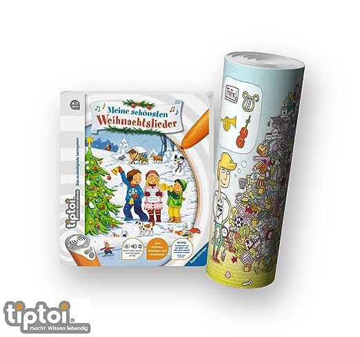 tiptoi Ravensburger Kinderlieder Weihnachten 4-7   Meine schönsten ...