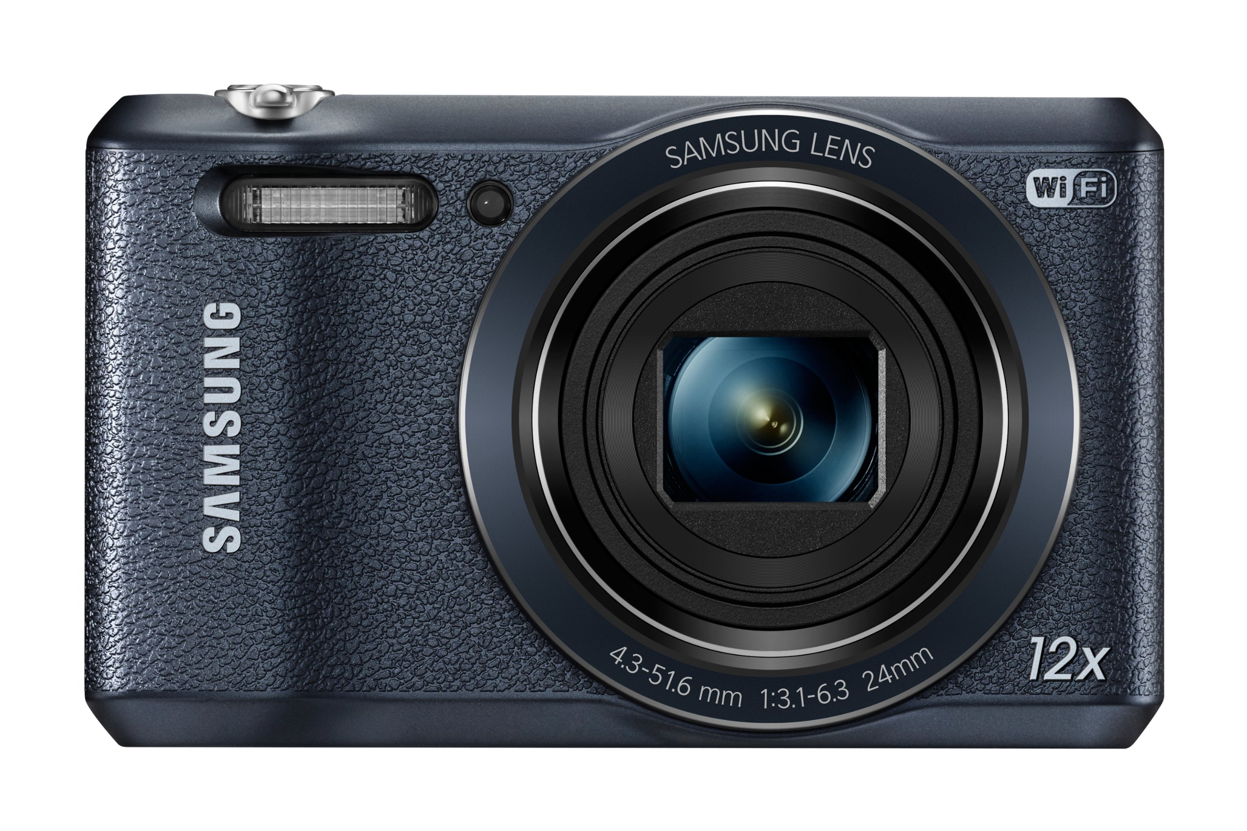 Samsung WB35F 16.2MP Smart WiFi & NFC Digital Camera with 12x Optical Zoom and 2.7'' LCD (Black) by Samsung