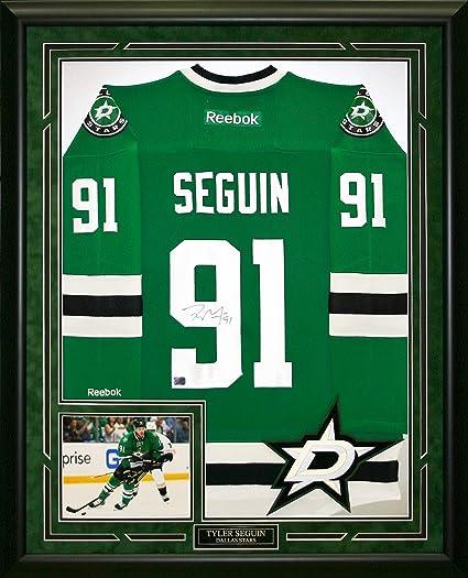 best website d741f ac4ec Tyler Seguin Hand signed & Custom Framed Reebok Jersey. at ...