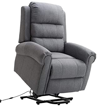 Poltrone Relax Anziani.Homcom Poltrona Relax Massaggiante Reclinabile Poltrona Alzapersona Elettrica Riscaldante Anziani E Disabili Tessuto 98 96 105cm