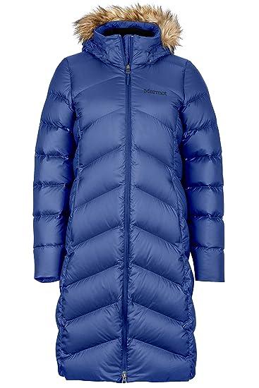 4cc029e9e66 Marmot Montreaux Women's Full-Length Down Puffer Coat, Fill Power 700,  Arctic Navy