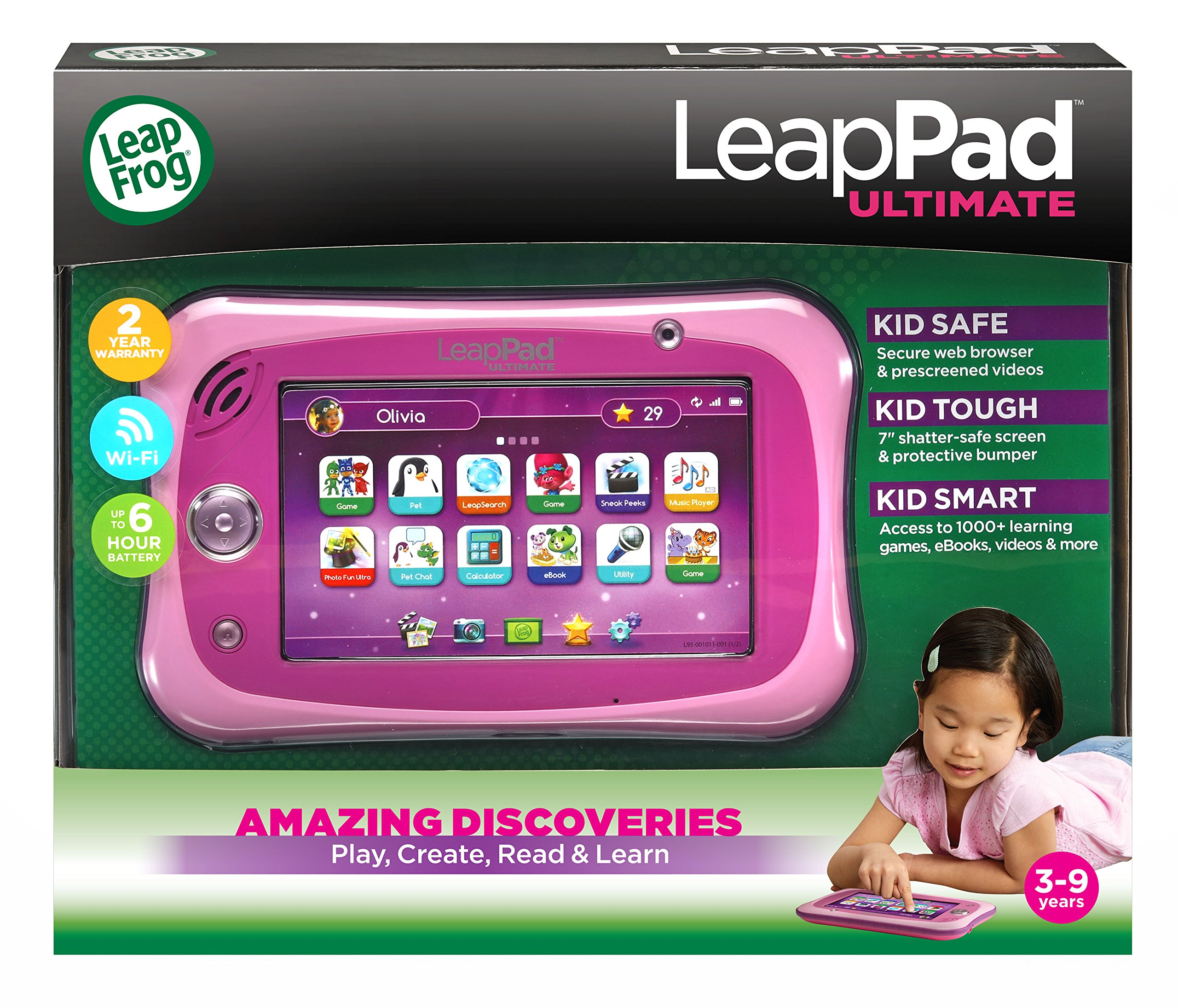 LeapFrog LeapPad Ultimate, Pink by LeapFrog (Image #2)