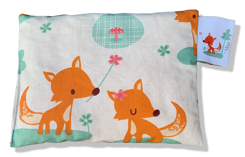 Zirbenkissen sweet foxes I Alpines Zirbenholz I BIO Qualit/ät I /Ökotex I F/üchse