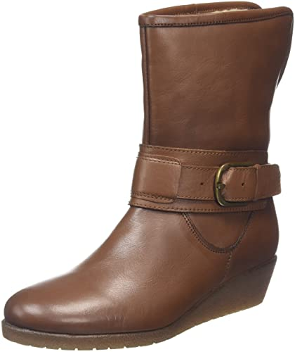 Madara, Bottes Classiques Femme - Marron - Brown (Tan Leather), 39 EU (6 UK)Lotus
