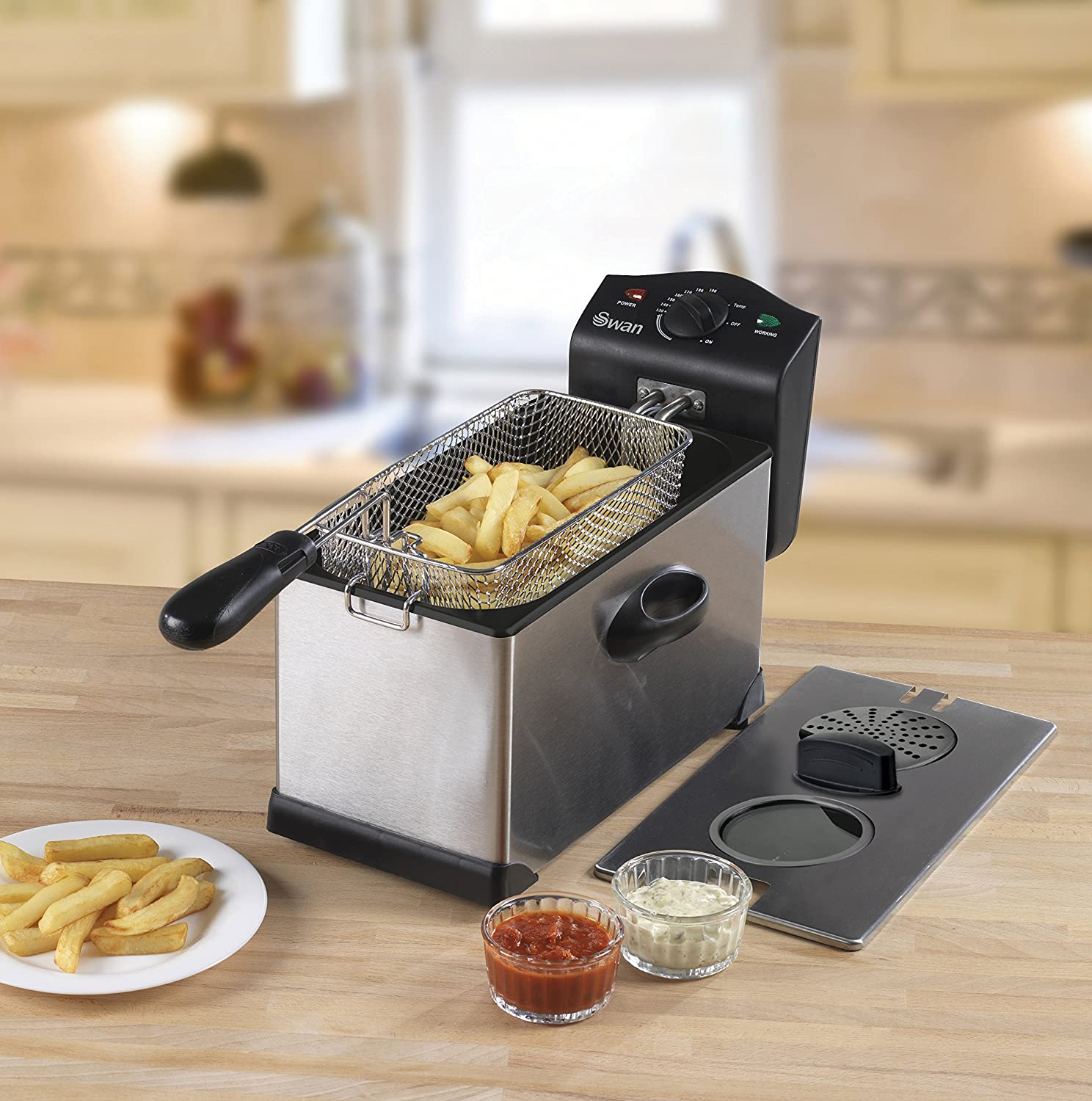 This is a high quality yet cheap deep fat fryer.