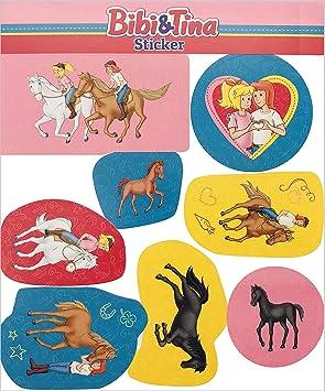 8 Sticker Bibi Tina Als Mitgebsel Als Geschenk Oder Zum Basteln Aufkleber Bilder Kinder Kindergeburtstag Geburtstag