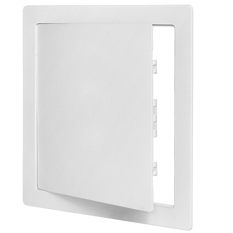 "Dynasty Hardware AP1212 Access Door 12"" x 12"" Styrene Plastic White"