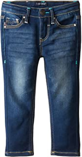 Tommy Hilfiger Girls Big Adaptive Skinny Jeans with Elastic Waist and Magnetic Outside Seams 7177097
