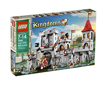 Amazoncom Lego Kingdoms Kings Castle 7946 Toys Games