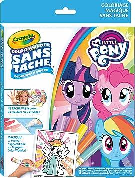 Crayola Kit Color Wonder My Little Pony Coloriage Magique 256298 006 Amazon Fr Jeux Et Jouets