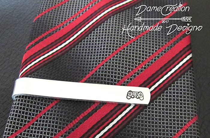 gamer tie clip gamer tie bar tie clip for men christmas gifts for
