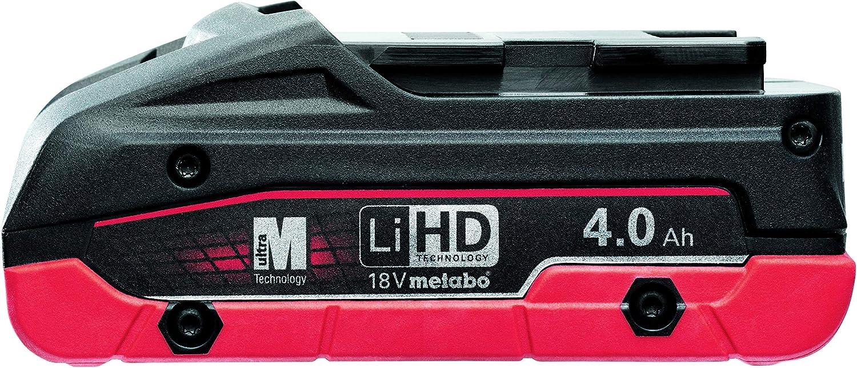 Bater/ía LiHD 18 V 4,0 Ah Marca Metabo Referencia: MTB 625367000