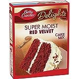Betty Crocker Super Moist Cake Mix, Red Velvet, 15.25 oz