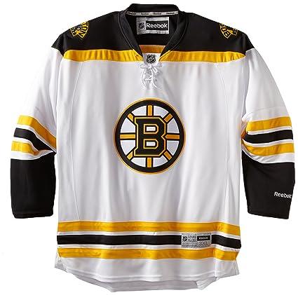 NHL Men s Boston Bruins Reebok Edge Premier Team Jersey - 7185H5W7Hpjbbr  (White 1b22864af