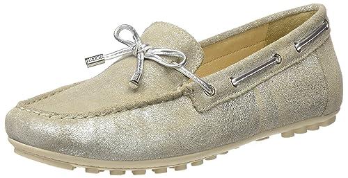 Geox D Leelyan A, Mocasines para Mujer: Amazon.es: Zapatos y complementos