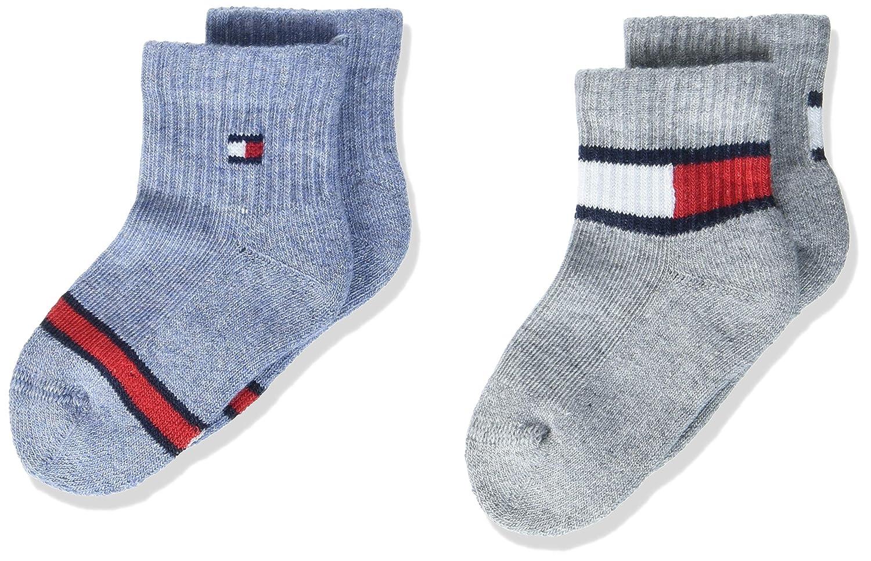 Tommy Hilfiger Baby-Jungen Socken, 2er Pack 485014001