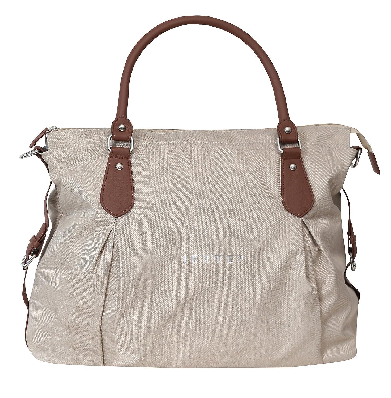 JETTE JET17-754-00004 Wickeltasche Jessica Fishbone Khaki, beige Baby & Company GmbH