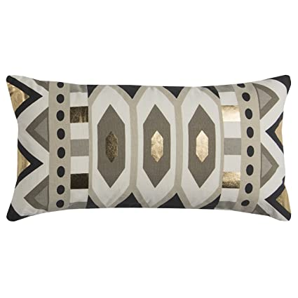 Amazoncom Rizzy Home T11957 Decorative Lumbar Poly Filled Throw
