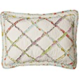 Laura Ashley Home | Ruffle Garden Collection | Premium Quality Pillow Sham, Decorative Pillow Case for Bedroom Living…