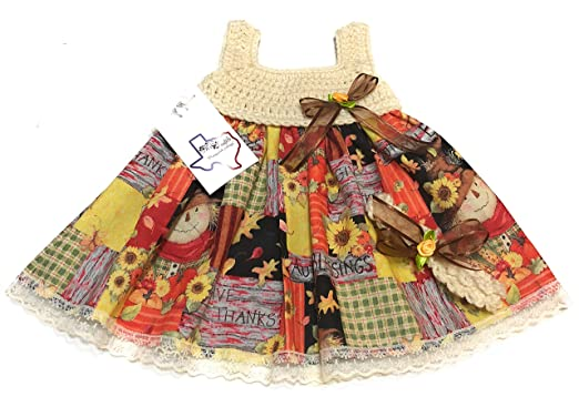 cb9ddeaba Amazon.com: MiC Crafts Handmade Crochet Baby Dress Headband ...