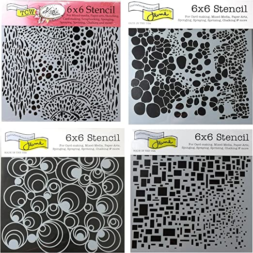 6 By 6-inch Art Is Template x Crafters Workshop Template