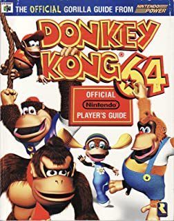 Donkey kong 64 official strategy guide brady games bradygames donkey kong 64 players guide the official guide from nintendo fandeluxe Gallery