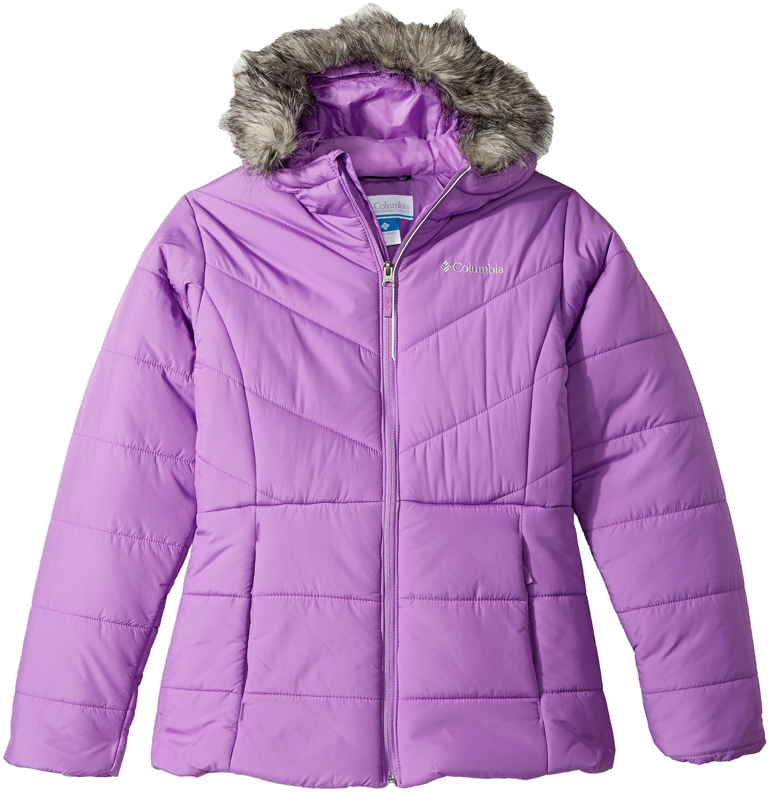 Columbia Big Girls' Katelyn Crest Jacket, Crown Jewel, Large