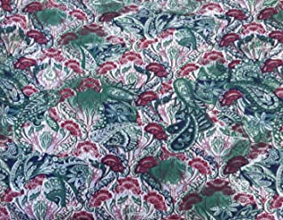 232d9381be8 Organic Cotton Spandex Print #1 Fabric by the Yard Stretchy Jersey Knit 8/2