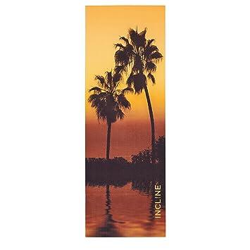 Inclinaison Pour Tapis De Yoga Imprime M Sunset Palms Amazon Fr