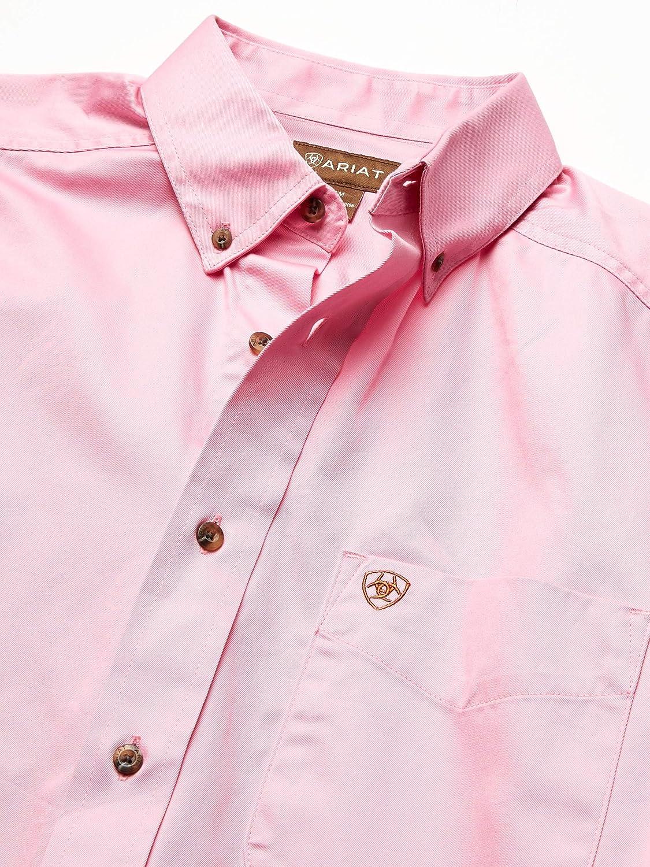 ARIAT Mens Solid Twill Shirt