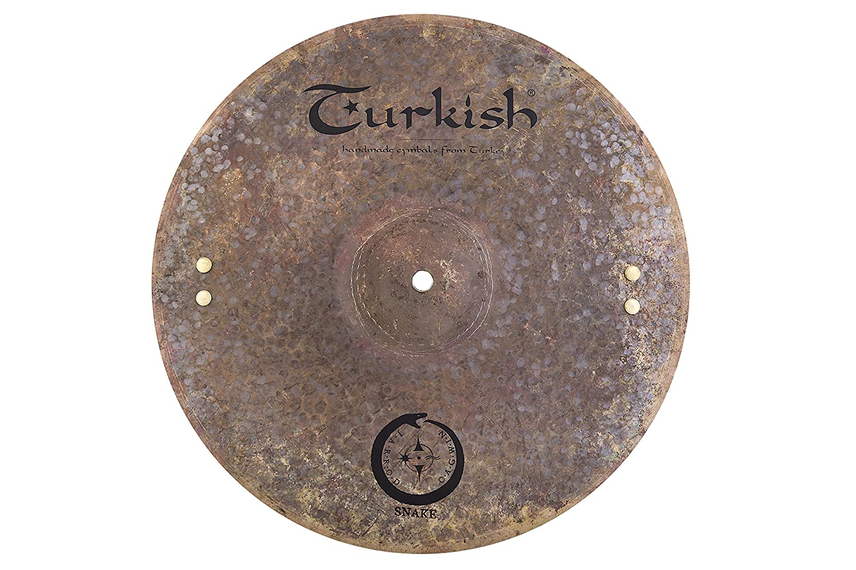 Turkish Cymbals Jarrod Cagwin Soundscape Series 14-inch Snake Hi-Hat * SN-H14   B01J3BRAWM