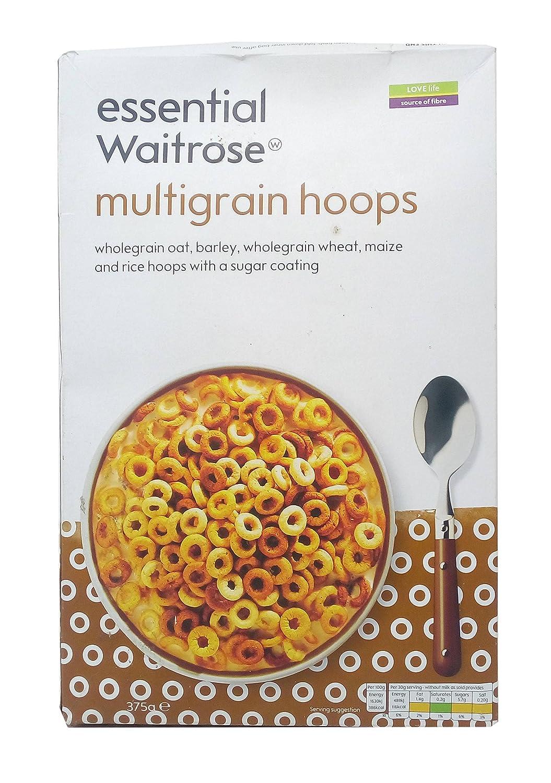Waitrose Multigrain Hoops 375g Carton Amazon