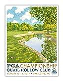 Signed 2017 PGA Championship Poster - Quail Hollow